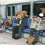 Cowman on the Tube